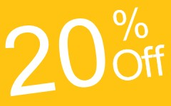 ADVANCE BOOKING  DISCOUNT -20%