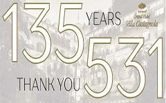135° anniversario