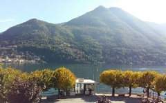 October on Lake Como
