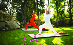 Week-end break Yoga & Orient