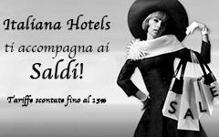 Italiana Hotels Florence ti accompagna ai saldi!